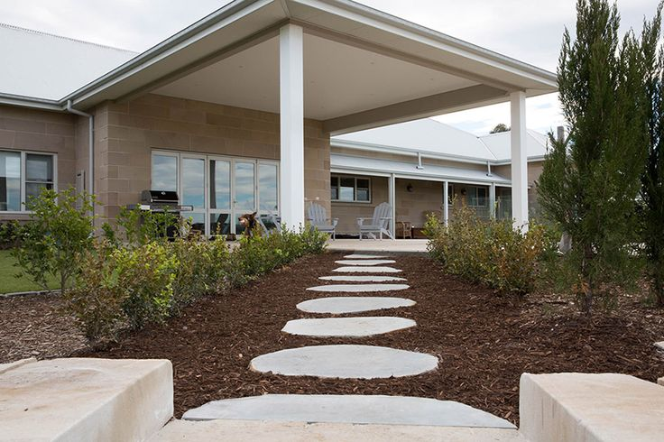 Check out these Avatar Stepping Stones - Organic shape Bluestone. Avatar Bluestone is popular and durable choice for outdoor paving. It has a great smooth non slip surface which makes it a perfect choice for wet areas, they make great organic garden pavers with some stone pebbles around or mondo grass for pathways.   http://www.armstone.com.au/products/stepping-stones/avatar-bluestone/