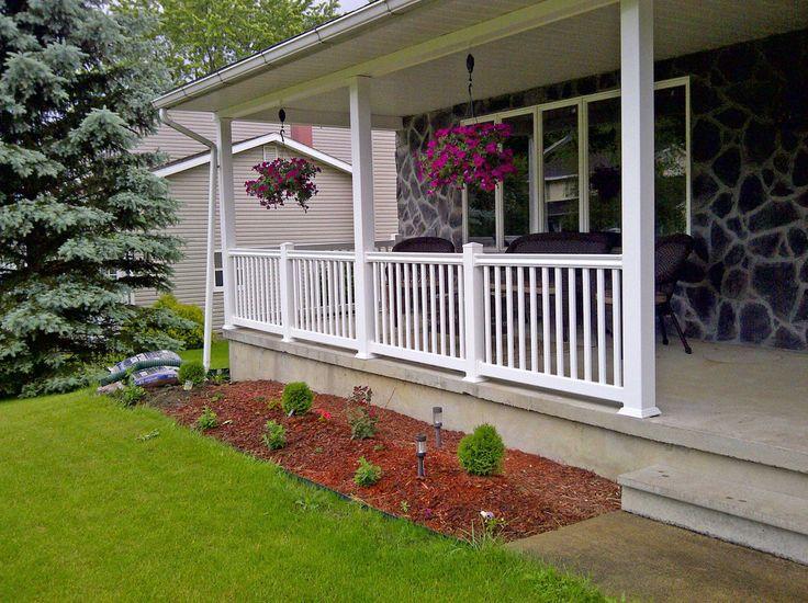 vinyl front porch railing                                                                                                                                                      More