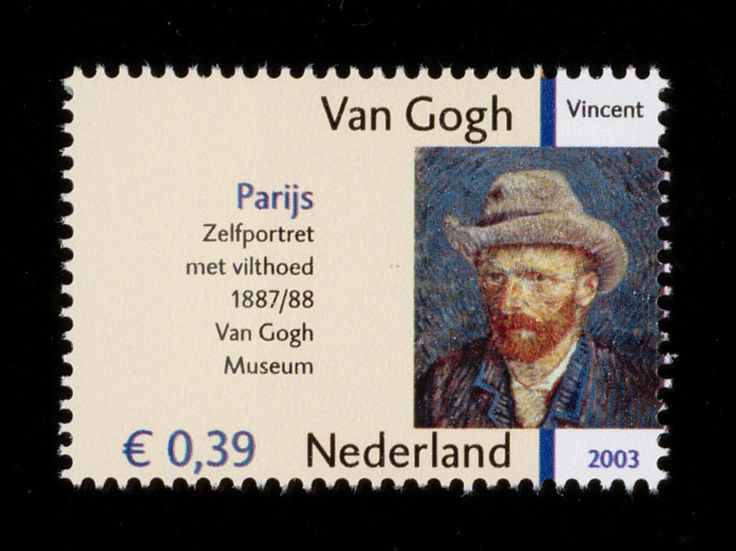 Dutch stamp - Vincent van Gogh