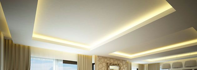 Lumilum Warm White Led Strip Lights Use In Cove Lighting