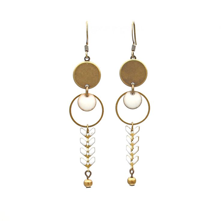 Les BO Tyia - Boucles d'oreilles - La Cabane à Perles