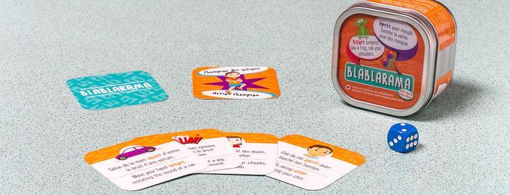Blablarama – Avant/Après. Un jeu de cartes amusant et très éducatif, pour apprendre à respecter et comprendre les consignes qui contiennent les mots « Avant » et « Après ». #Blablarama #LesJeuxDeBriBri #JeuxEducatifs #Orthophonie