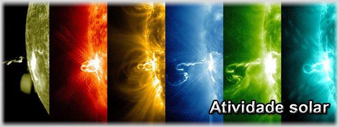 Galeria do Meteorito: Chance de explosões solares direcionadas para a Te...