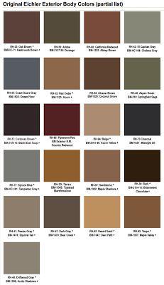 18 best Mid Century Colors images on Pinterest Exterior paint