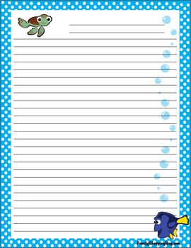 {free} printable stationary