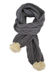 Aran Knit Scarf PF7293