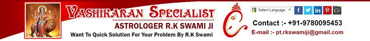 We gives you all the best service by the famous and the best astrologer Pt. R.K. Swami ji he is the best astrologer in all over the world.