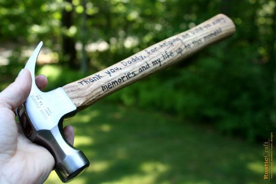 Gift- Hand Engraved Hammer- 5th Anniversary Gift -Best Husband Gift ...