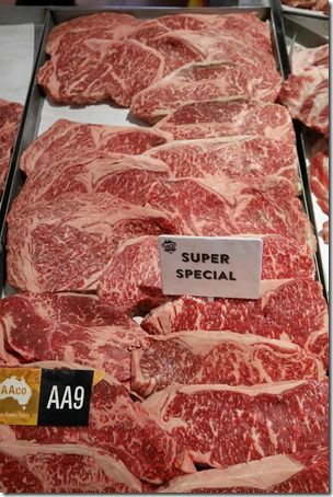 Premium wagyu beef, Vic's Meat Market