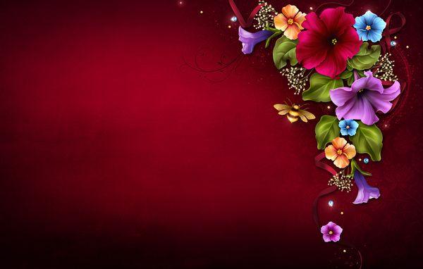 Floral Frame Tattoo