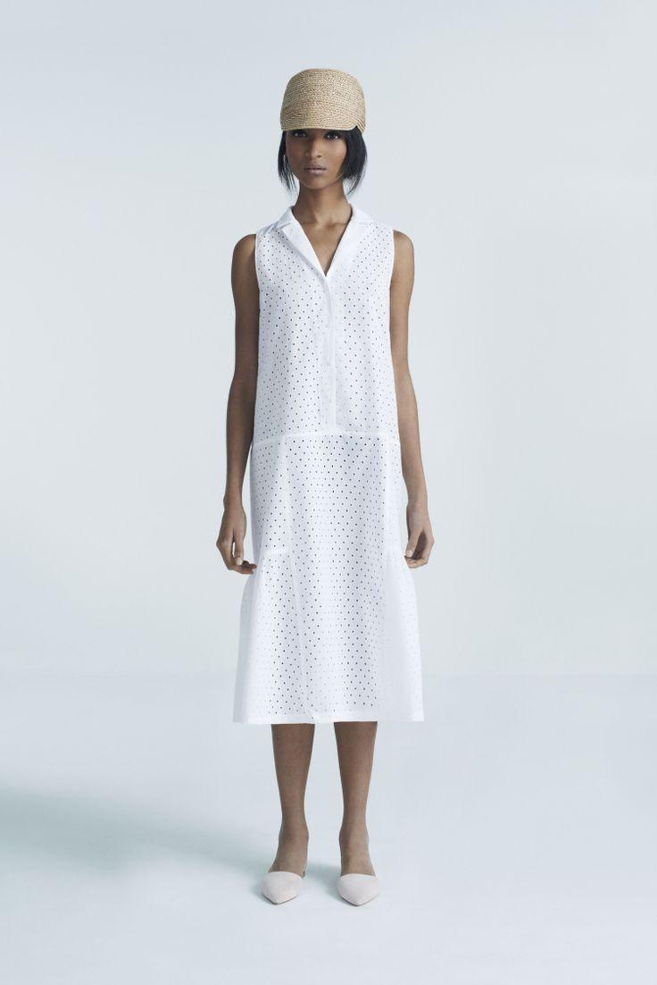 Safa Cap and Busy Dress | Samuji Pre-Fall 2014 Collection