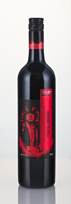 AC/DC The Wine Launches in the US