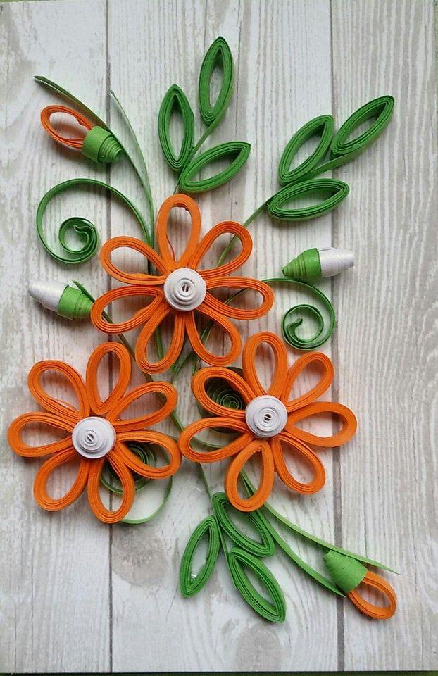 Квиллинг для начинающих пошагово с фото цветы