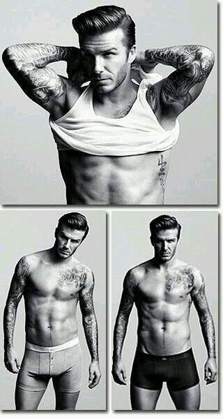 David Beckham - just ridiculously gorgeous.