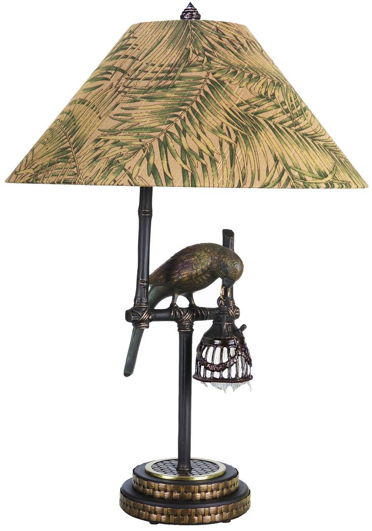 54 Best Tropical Table Lamps Images On Pinterest