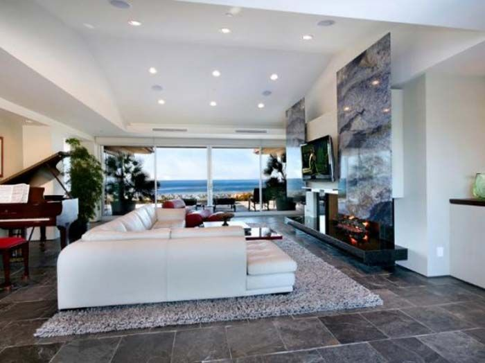 Contemporary Dream House Design, Tropical House in Catalina Island ...