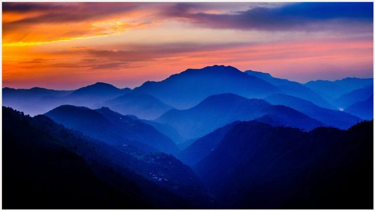 Hd Wall Of Humachal: 1000+ Ideas About Mountain Sunset On Pinterest