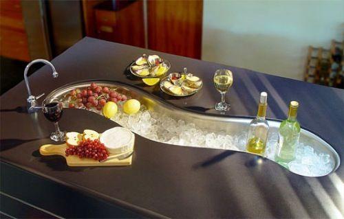 küchenspüle mit unterschrank party verspielt design