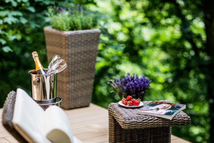 Relaxation area with a panoramic terrace - SPA by L'Occitane, Uroczysko Siedmiu Stawów Luxury Hotel