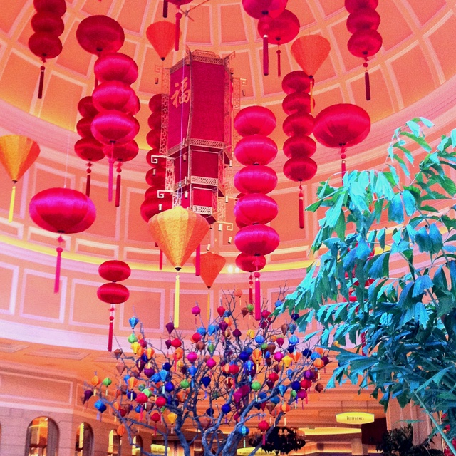Bellagio Celebrates Chinese New Year, Las Vegas