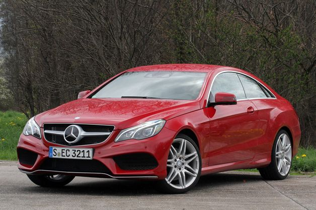 2014 Mercedes E-Class Coupe revealed