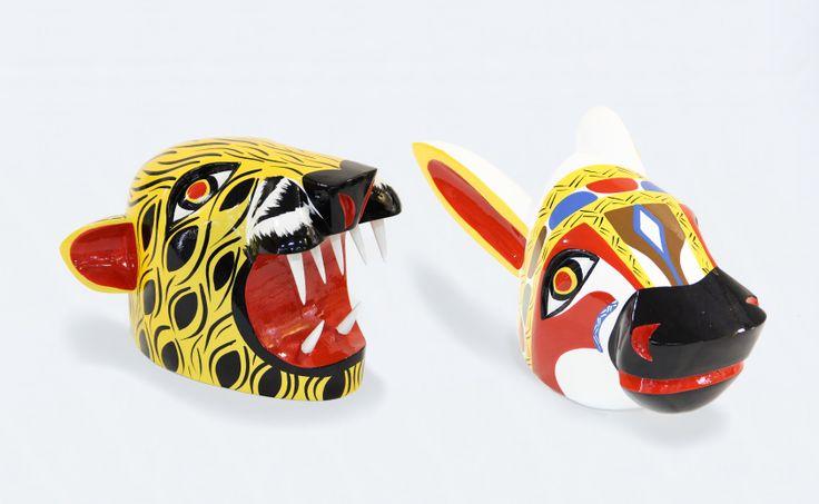 Colombia Artesanal: Máscaras del Carnaval, Máscara del Carnaval