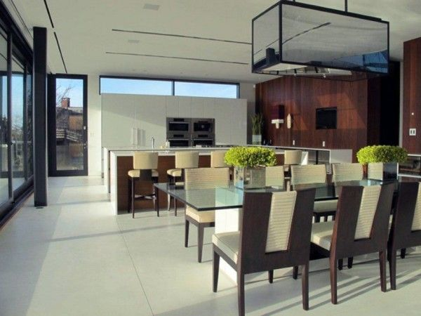 Luxury Dinning Room Ideas from Luxury House Design Ideas with Amazing Exterior Innovation by Blaze Makoid Architecture 600x450 Luxury House Design Ideas with Amazing Exterior Innovation by Blaze Makoid Architecture
