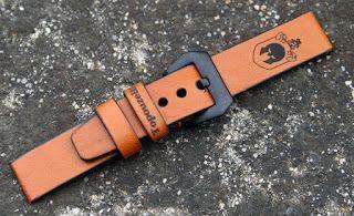Curele de ceas, din piele, handmade. Topouzelli Straps.: Curea de ceas, handmade, T 798