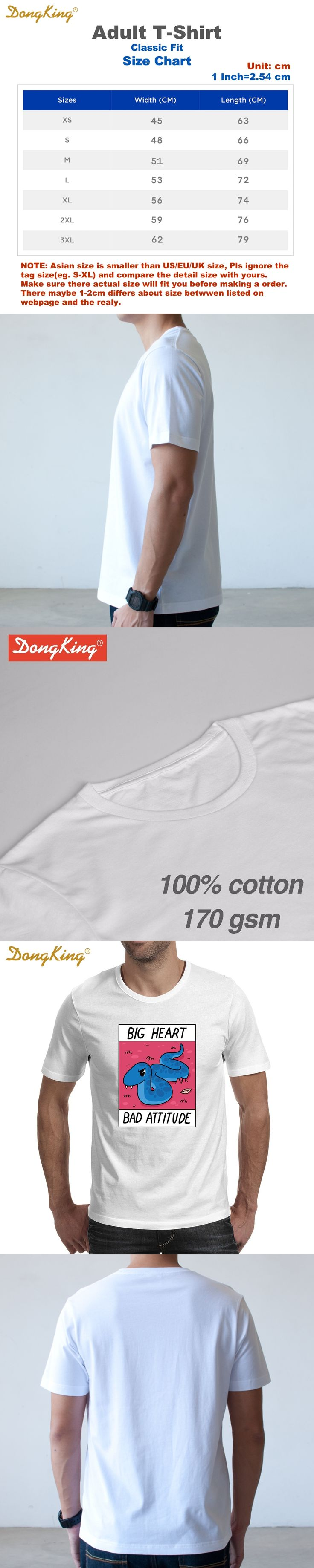 Newest Creative Design BIG HEART BAD ATTITUDE Printed T shirts Men's Women's Fashion Short Sleeve T-shirt Funny O-neck Cool Tee