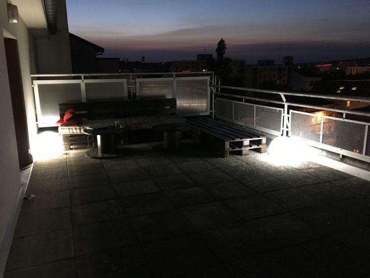 Terrasse en palettes