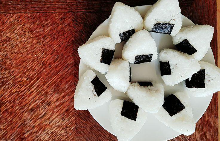 Onigiri feever  Yakitori tofu