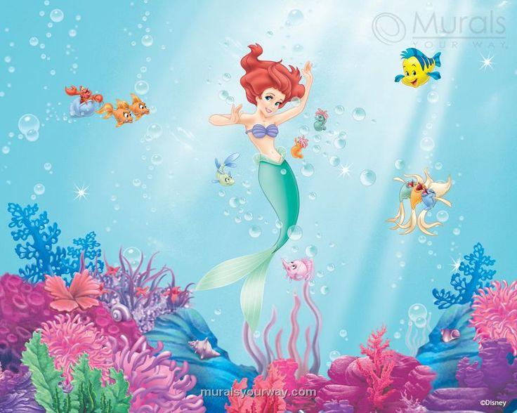 Ariel Mermaid Bathroom Decor : Best images about decor little mermaid on