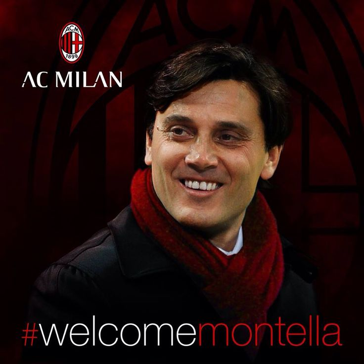 #ACMilan have a new coach: Vincenzo Montella signed a two-year contract, #welcomeMontella! 🔴⚫ #weareacmilan