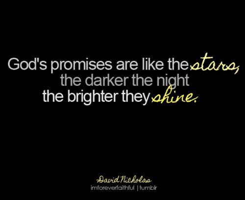 God's promises!