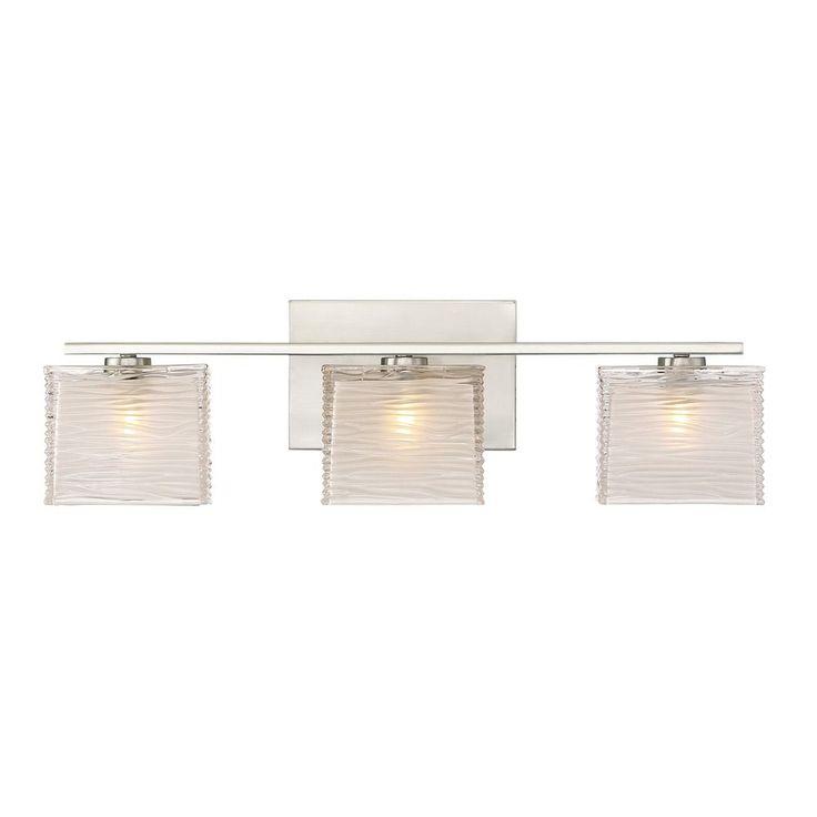 Quoizel Lighting Quoizel Lighting Westcap Brushed Nickel LED Bathroom Light WCP8603BNLED