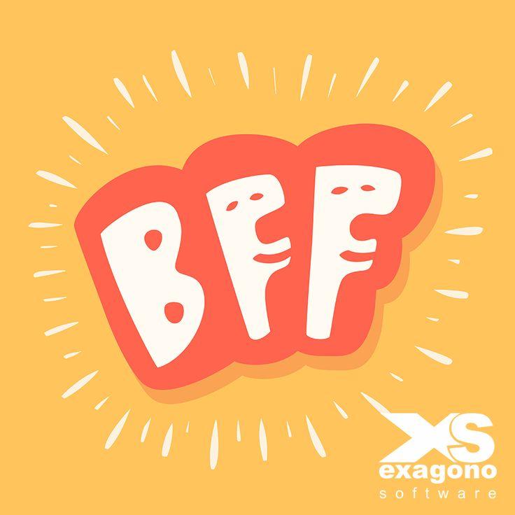 """¿Qué significa #BFF?  Es la abreviatura de Best Friends Forever que significa """"Mejores amigos para siempre""""."""