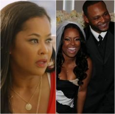 According to Ed Hartwell, his marriage to Keshia Knight Pulliam didn't work because of his feelings for Lisa Wu and Keshia's eagerness to get pregnant.