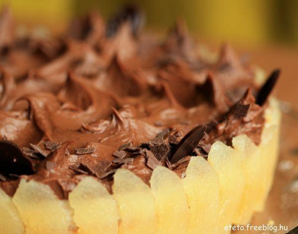 Csokikrémes körtetorta eléggé egyszerűen