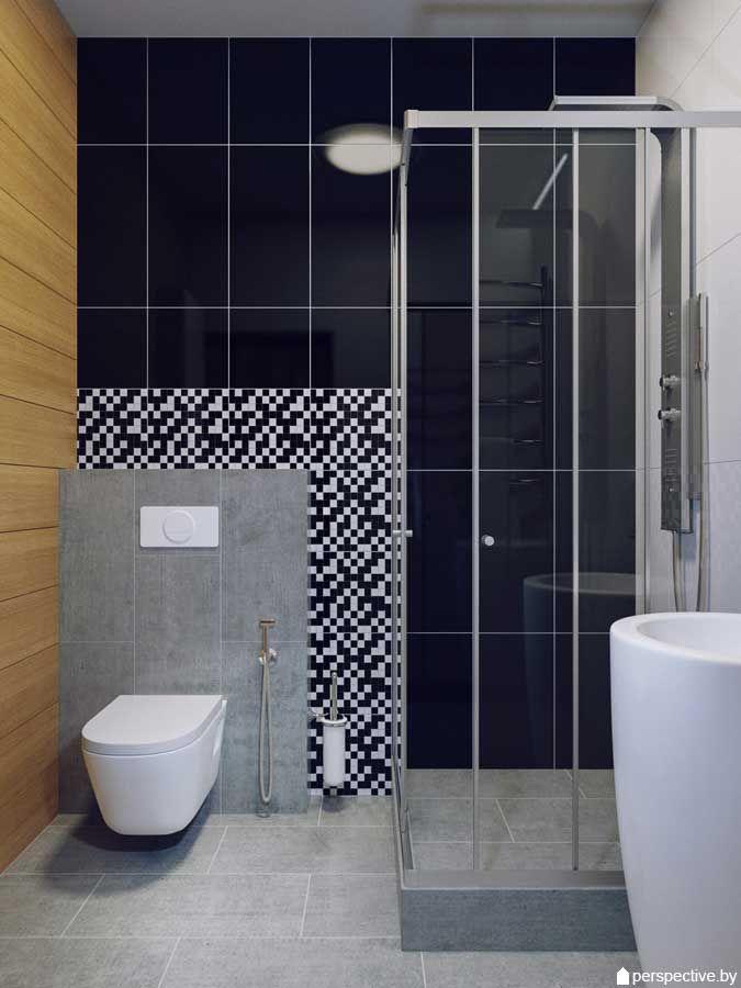 Дизайн ванной комнаты 3 кв.м. Природная чистота Главные качества этой ванной – простота, доступная всем. Этот дизайн ванной комнаты 3 кв.м. состоит лишь из натуральных материалов, а точнее, качественной имитации. Одна часть стен и пол отделаны плиткой под дерево, которая очень точно передает малейшие переходы среза дерева — множества оттенков коричневого. Для остальной части стен … … Читать далее →