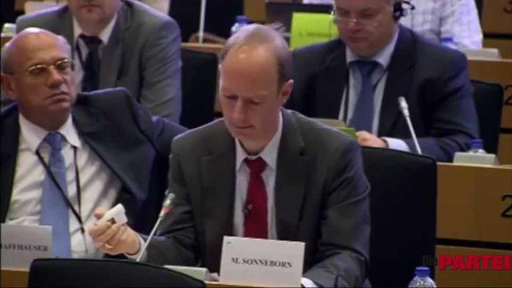 Martin Sonneborn: Fragen an Oettinger