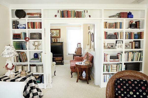 Интерьер домашней библиотеки - фото 62 стильных решений