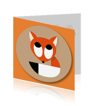 geboortekaartje-herfst-vos