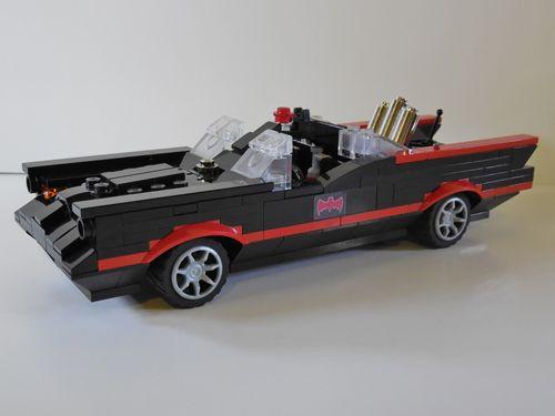Lego Batman Batmobile!