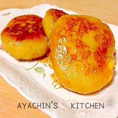 チーズINいももち〜甘辛バター醤油レシピ♪ by AYACHIN♪さん | レシピ ...