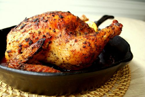 Rotissere Style Baked Chicken - I have always wished I could make one of these myself - Now I know how!