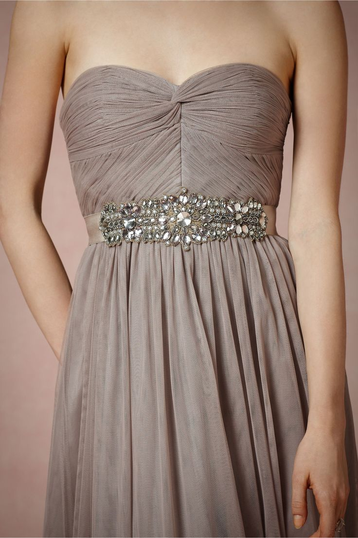 If you wanted your bmaids to wear gray sparkly dresses- I'd be ok with that