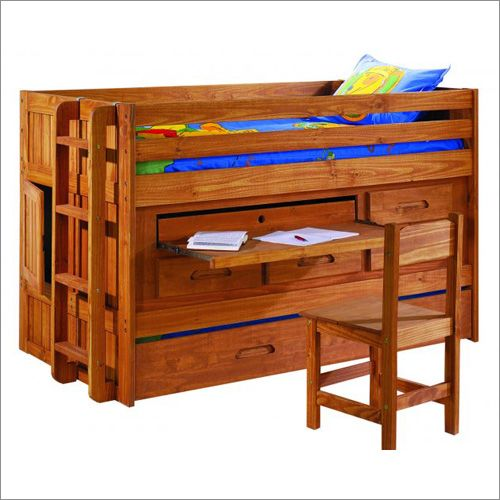 Discovery junior loft all in one bed frame by new energy for Junior bunk bed