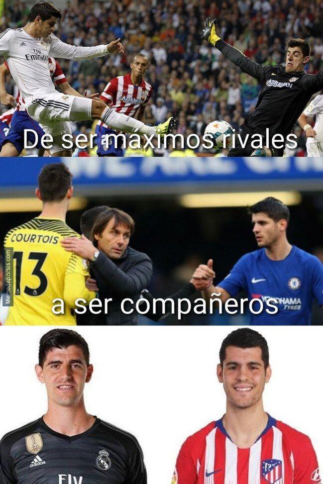 El Madrid Demostró Con Los Memes Quién Es Su Hijo Atletico De Madrid Memes De Fútbol Real Madrid Fútbol