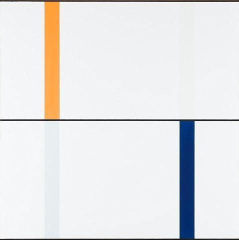 Steven Aalders, Hellya, blauw, oranje, Stedelijk Museum, Amsterdam.