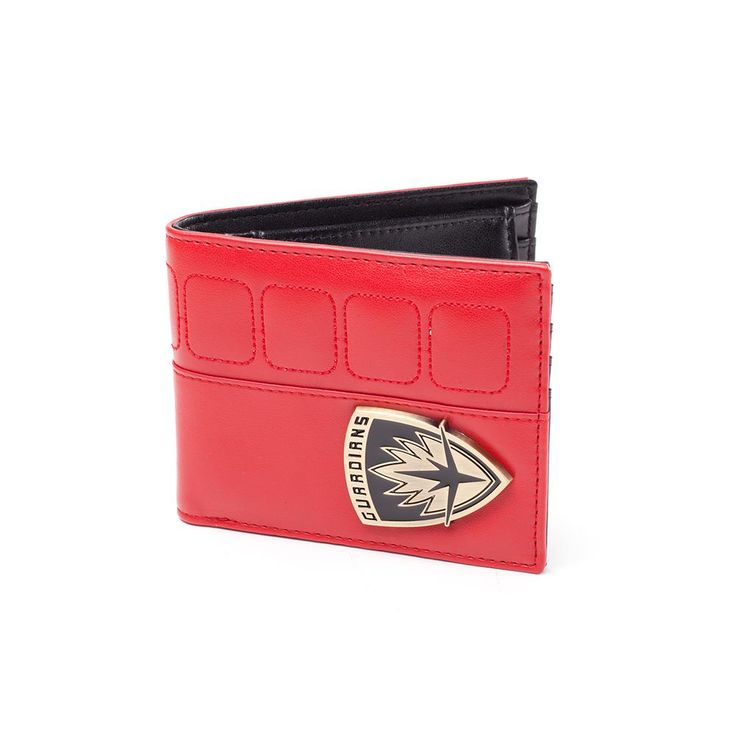 Marvel Guardians Of The Galaxy - Shield bifold portemonnee rood/zwart